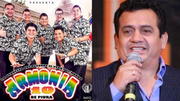 Armonía 10 y Tony Rosado