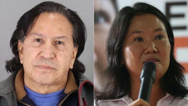Alejandro Toledo y Keiko Fujimori