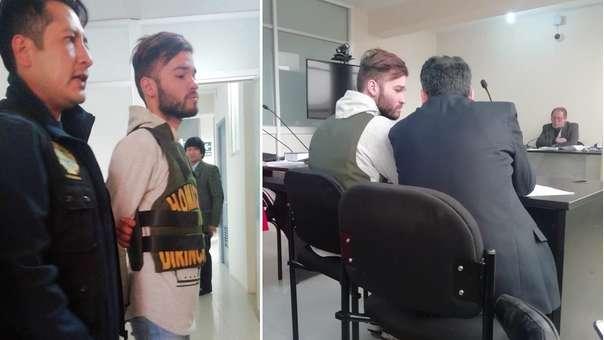 Alexander Rafael Salazar Álvarez fue detenido el jueves por la Policia Nacional.