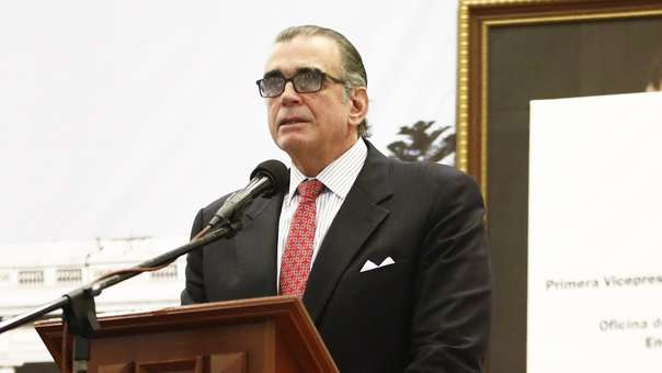 Pedro Olaechea, presidente del Congreso.