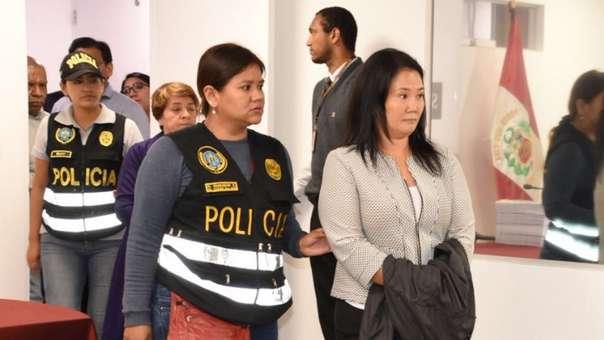 Keiko Fujimori permanece en prisión preventiva.