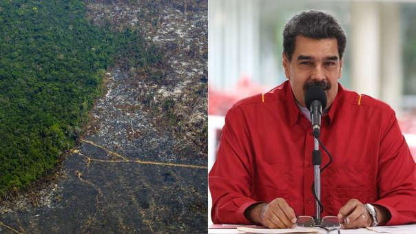 Nicolás Maduro se refirió a los incendios en la Amazonía.