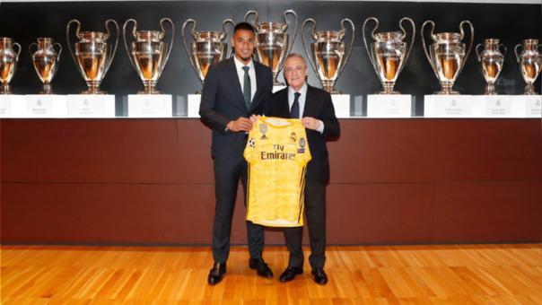 Alphonse Areola fue presentado como nuevo jugador de Real Madrid