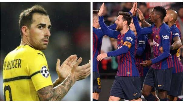 La fuerte declaración de Paco Alcácer contra Barcelona previo al duelo por Champions League