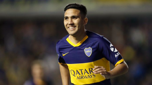 'Bebelo' Reynoso anotó el 1-0 para Boca Juniors ante Estudiantes de la Plata por la Súperliga Argentina