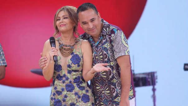 Gisela Valcárcel y Roberto Martínez