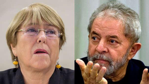 Michelle Bachelet-Luiz Inácio Lula da Silva