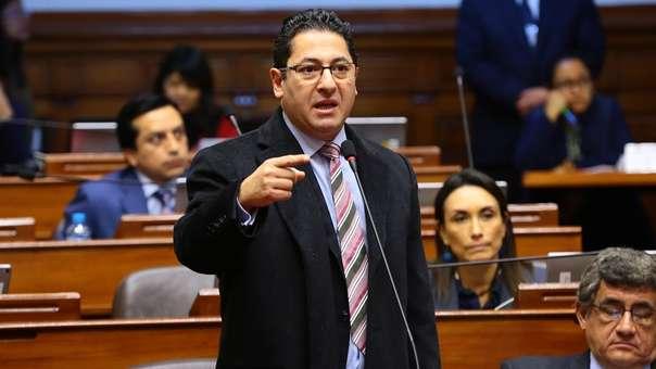 Salvador Heresi, vicepresidente del Congreso.