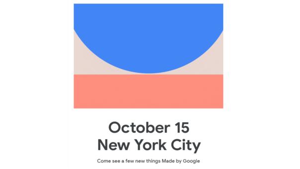 Así luce la invitación a prensa que asistirá al evento de Google