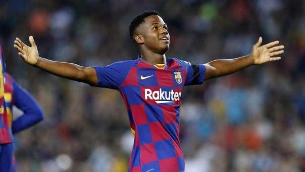 Ansu Fati anotó un gol y dio una asistencia en la última victoria de FC Barcelona