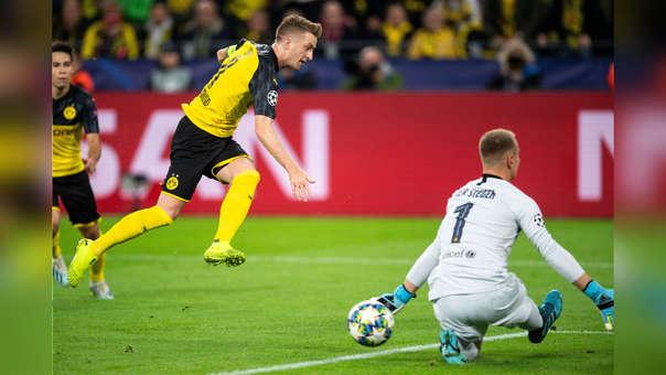Pase filtrado y remate de Reus: Ter Stegen respondió con esta brutal atajada