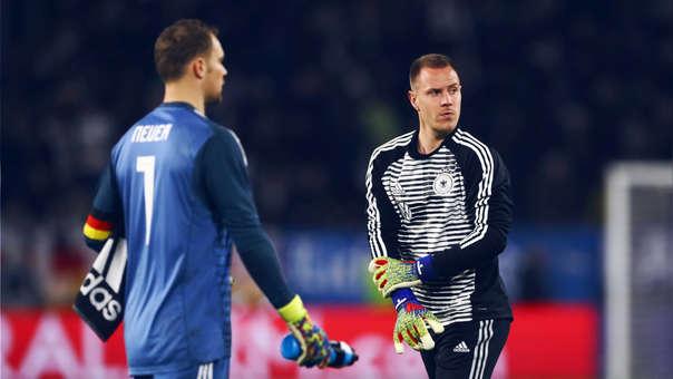 Ter Stegen le responde a Manuel Neuer: