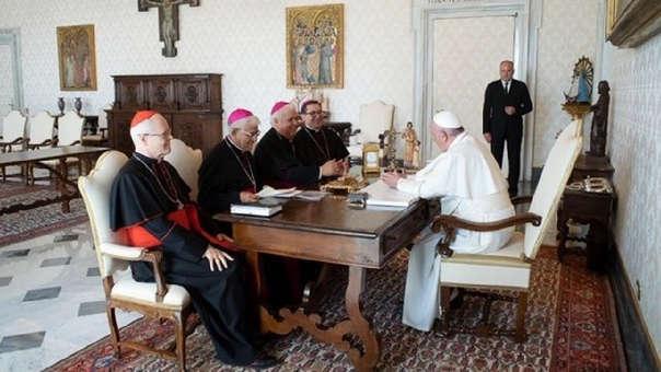 El Papa Francisco recibió a la Presidencia del Consejo Episcopal Latinoamericano