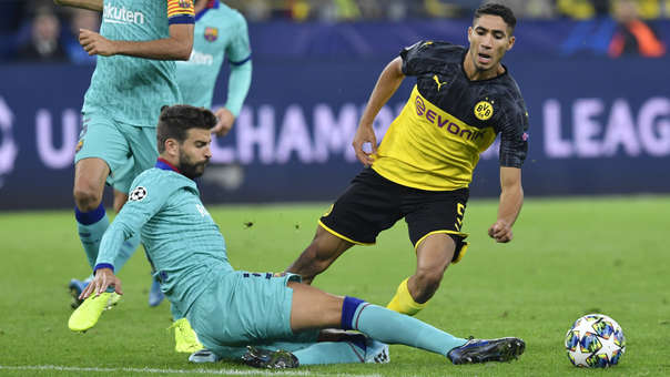 Barcelona vs. Borussia Dortmund