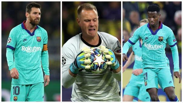 De Lionel Messi a Ansu Fati, los protagonistas del partido entre Barcelona ante el Dortmund