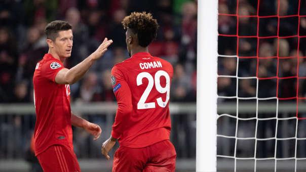Bayern Munich vence 2-0 a Estrella Roja de Champions League