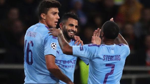Manchester City apabulló 3-0 a Shakhtar por la Champions League 2019-2020