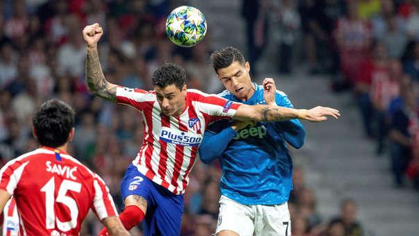 Cristiano Ronaldo es titular en Juventus, que visita a Atlético de Madrid por la Champions League