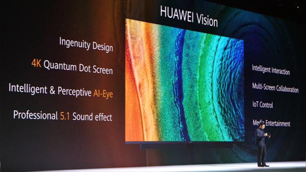 Huawei incursiona en los televisores.