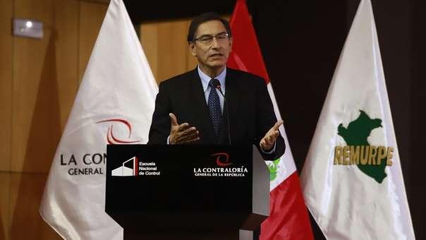 El presidente participó en la XII Conferencia Anual de Municipalidades.