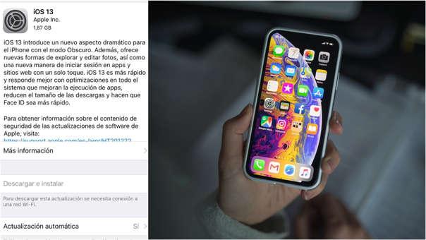 Si tienes un iPhone compatible, ya podrás descargar la actualización de 1.87 GB.