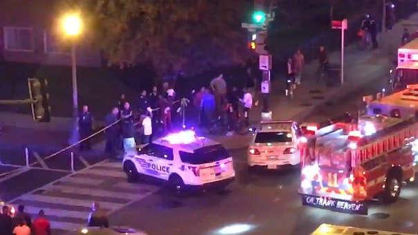 Resultado de imagen de un muerto y cinco heridos en un tiroteo en Washington