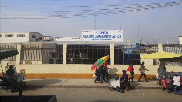 Es en el Hospital Carlos Lanfranco La Hoz de Puente Piedra donde certifican la muerte del bebé prematuro.