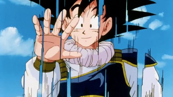 Goku teletransportacion