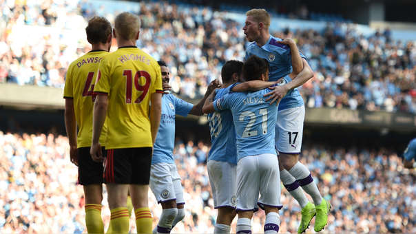 Manchester City vs. Watford