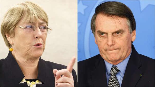 Michelle Bachelet-Jair Bolsonaro
