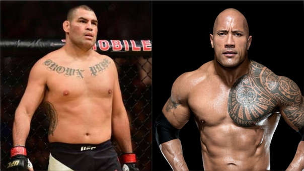 Cain Velasquez vs. The Rock
