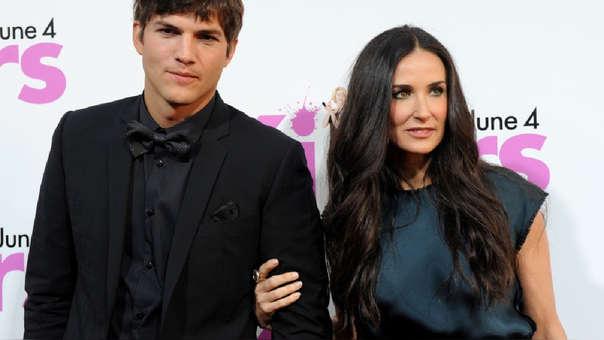 Más revelaciones de Demi Moore: los tríos sexuales terminaron con su matrimonio con Ashton Kutcher