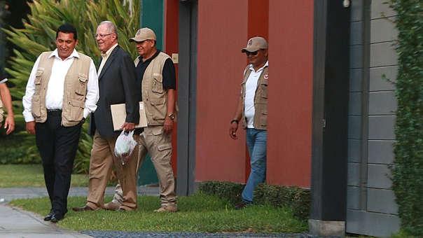 Expresidente permanece con arresto domiciliario.
