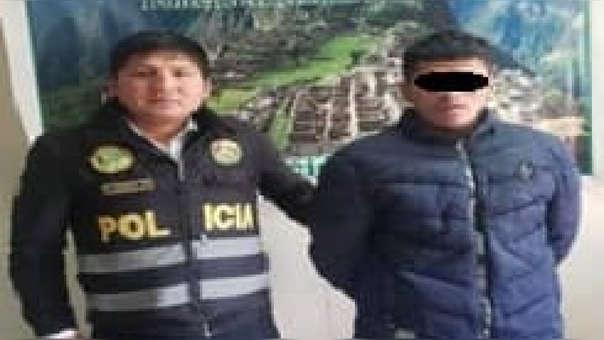 Hombre fue detenido por agredir a su madre.