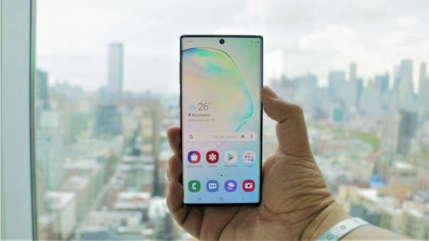 El Note 10 intrdujo varias novedades en la gama alta de Samsung