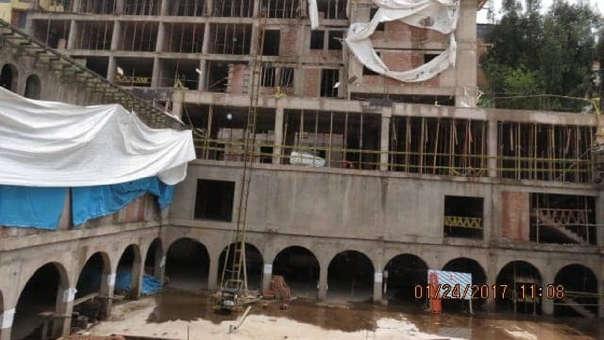 Infraestructura construida en el centro histórico de Cusco será demolida por disposición del Poder Judicial.