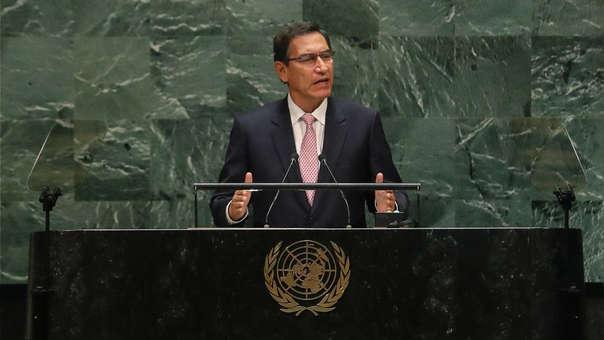 VIZCARRA EN LA ASAMBLEA GENERAL DE LA ONU