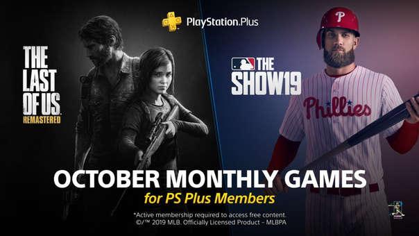 Juegos PS Plus octubre