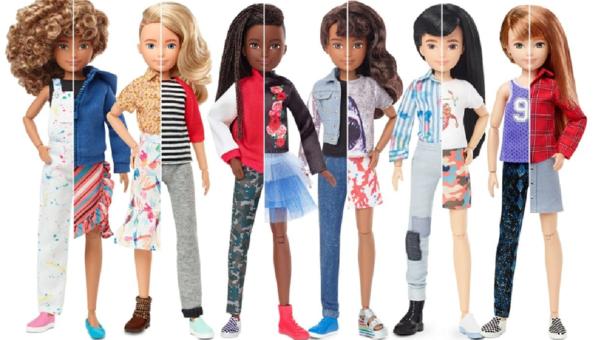 Muñecos sin género de Mattel