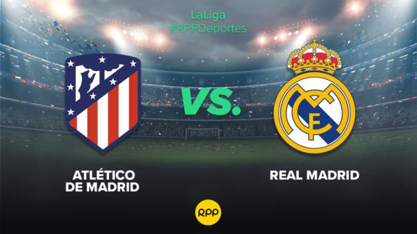 Atletico De Madrid Vs Real Madrid En Vivo Partidazo Por La