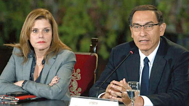 La vicepresidenta de la República le dijo a Martín Vizcarra que no apoya el adelanto de elecciones propuesto por el Ejecutivo.