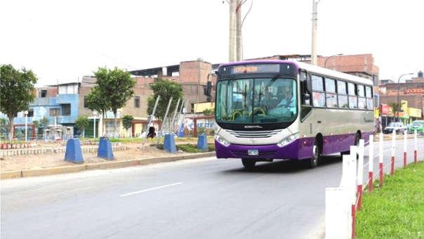 Bus del Corredor Morado