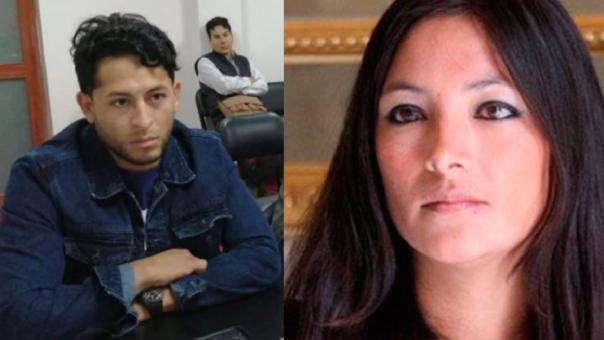 Magaly Solier y Erick Plinio Mendoza