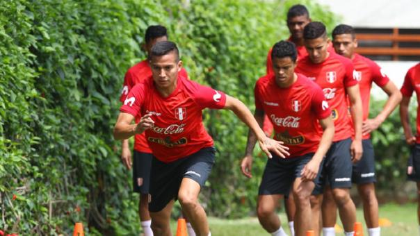 Selección Peruana Sub 23 realizó su primer entrenamiento con miras al duelo ante Colombia