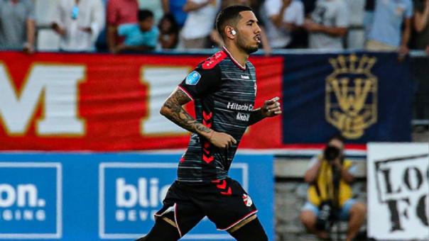 Sergio Peña en el once ideal de la Liga Holandesa