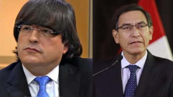 Jaime Bayly y Martín Vizcarra