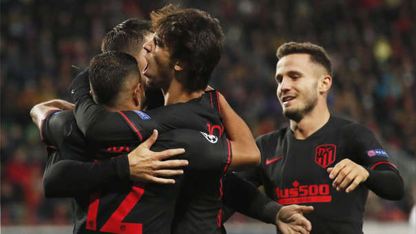 Atlético de Madrid vs. Lokomotiv