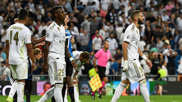 Real Madrid empató 2-2 ante Brujas
