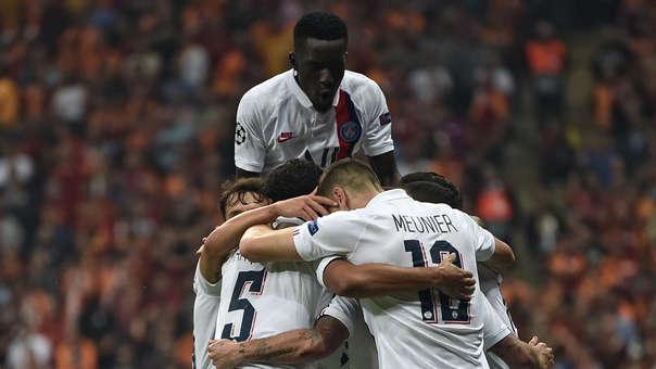 PSG vs. Galatasaray EN VIVO: los parisinos ganan 1-0 por el grupo A de la Champions League