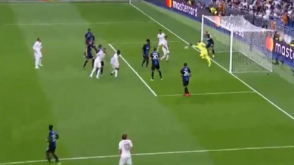 Real Madrid vs. Brujas ¡Cabezazo perfecto de Varane y atajada espectacular de Mignolet!